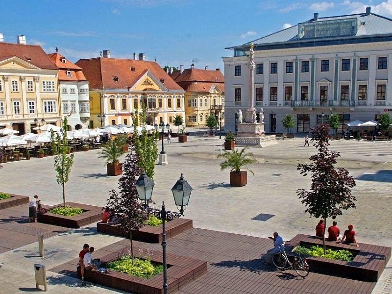 Győr – Széchenyi sguare