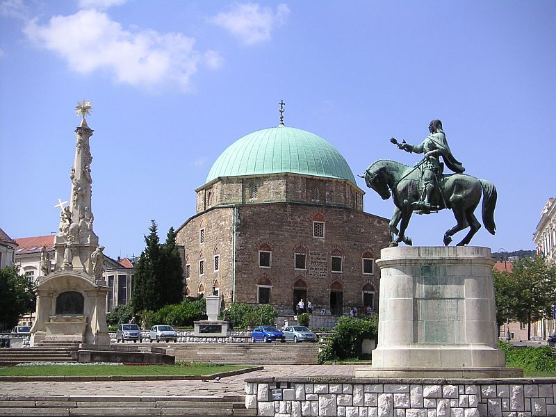 Pécs – Turkish monuments